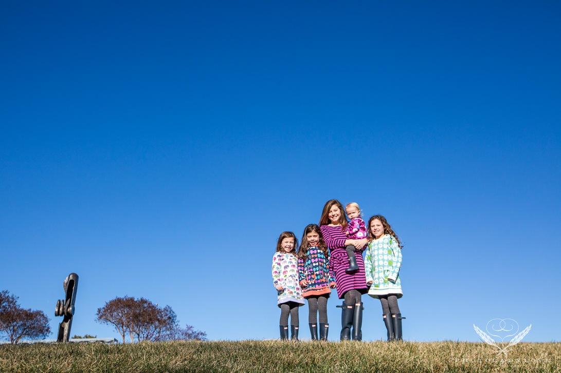 Crump girls in Richmond on January 10, 2015.